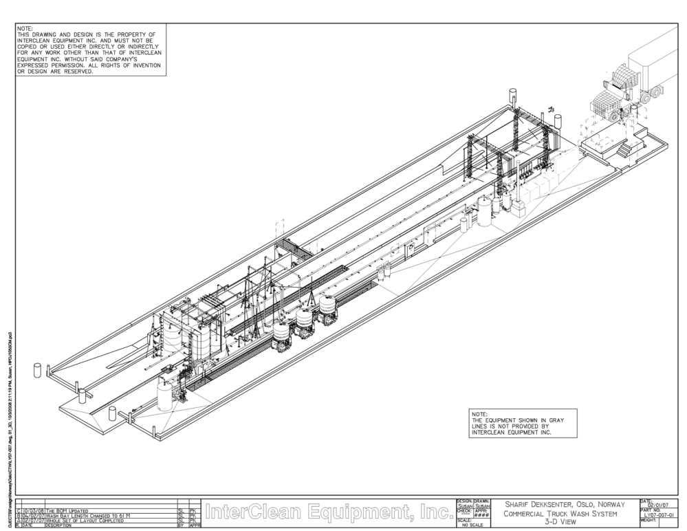 medium resolution of 2200x1700 truck wash systems retail commercial trucks interclean car wash drawing
