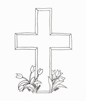 cross easter drawing coloring christian pages christianity crosses gravestone drawings printable tombstone clipart rocks happy digi headstone paintingvalley clip getdrawings