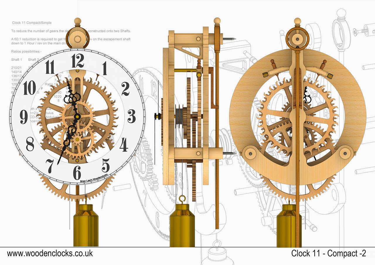 clock gears drawing at