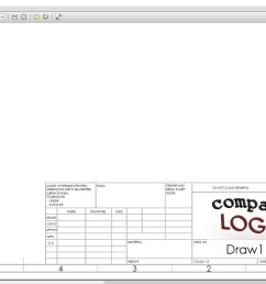 1918x1036 add your own custom logo to a drafting sheet in solidworks company drawing [ 1918 x 1036 Pixel ]