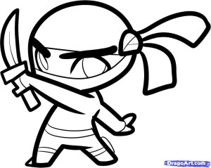 ninja draw cool drawings drawing step cartoon steps boys easy coloring boy dragoart clipart google chance paintingvalley imgs clipartbest ninjas
