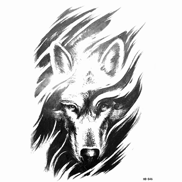 cool wolf drawings at