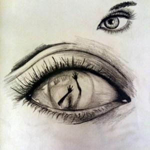 drawings creative eye easy paintingvalley