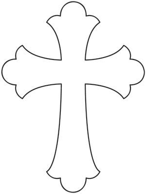 cross designs drawing simple drawings paintingvalley