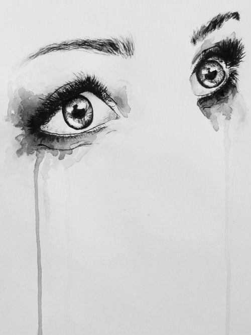 Drawing Of An Eye Crying : drawing, crying, Orasnap:, Drawing, Crying