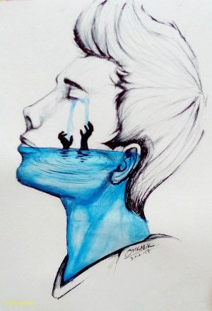 deep drawing meaningful drawings sad paintingvalley