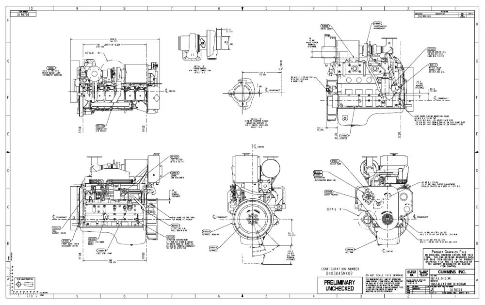 medium resolution of 1381x870 cummins engine drawings diesel engine drawing