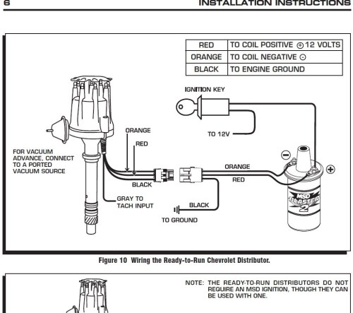 small resolution of 978x867 msd distributor wiring diagram distributor drawing