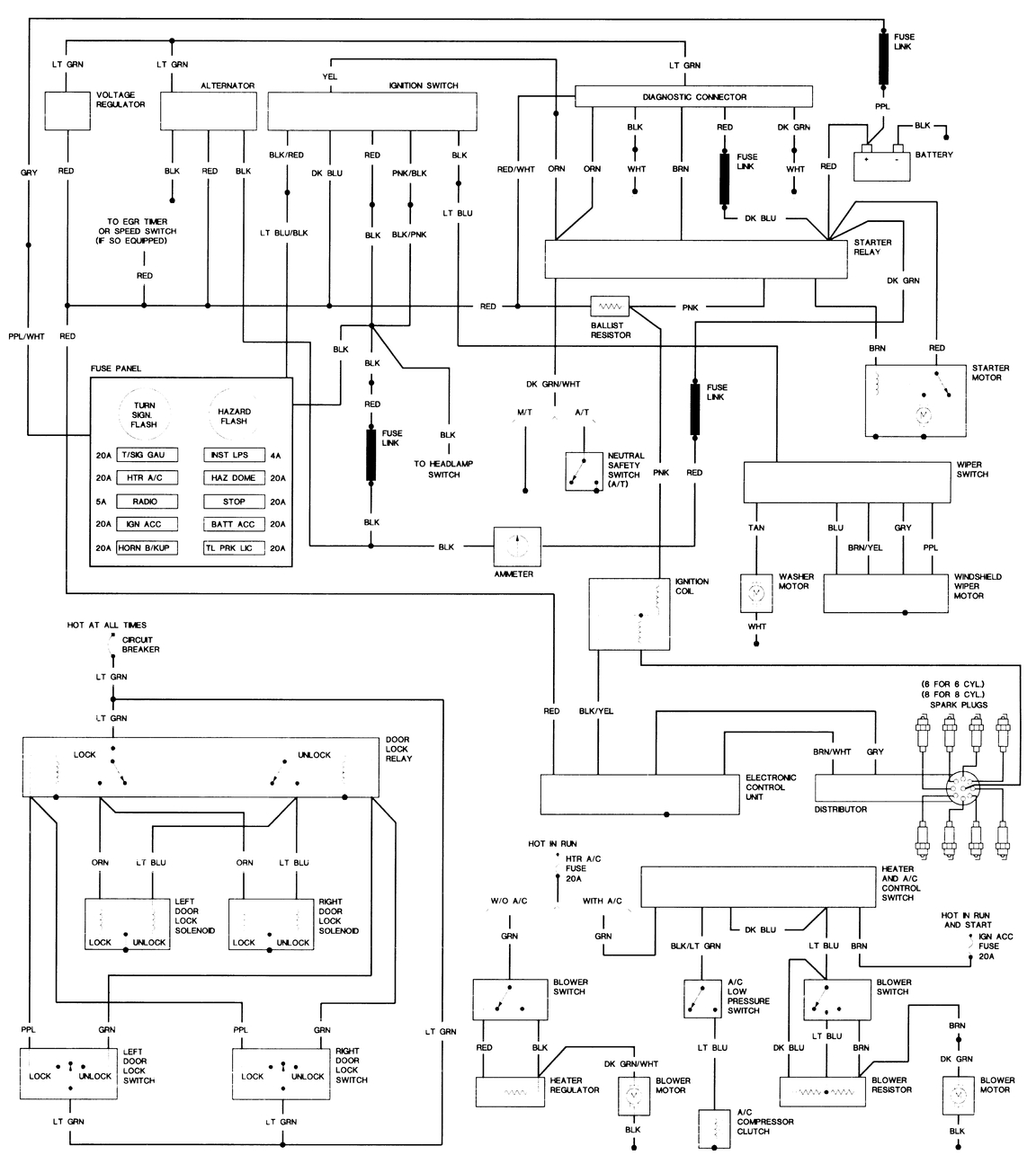 Dodge B250 Wiring Diagram Free