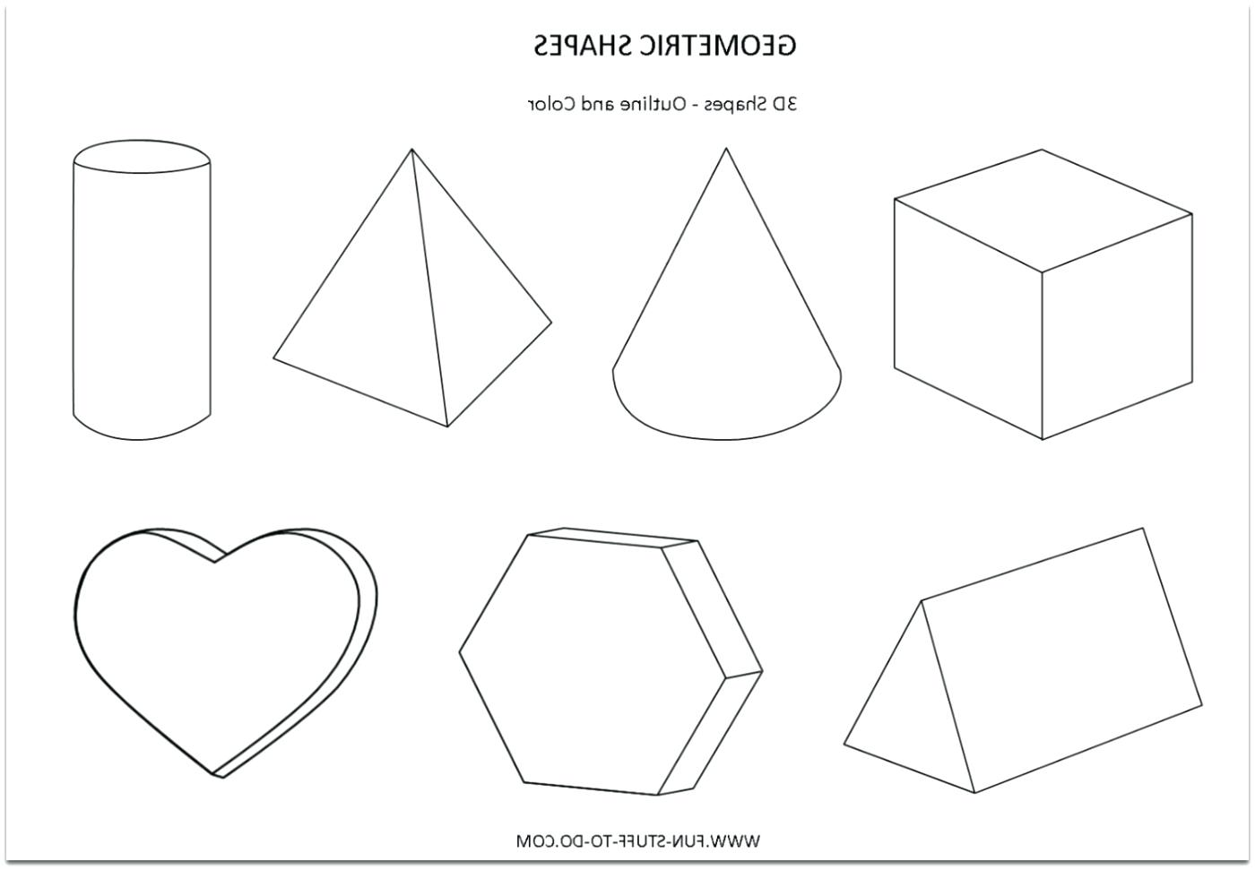 Drawing 3 Dimensional Shapes At Paintingvalley