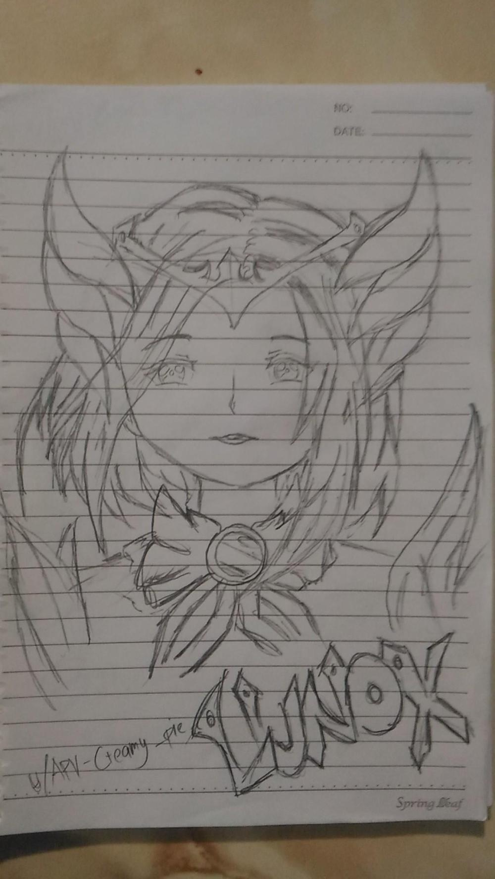 medium resolution of 1152x2048 rate my lunox from next hero drawing request on comments drawing comments