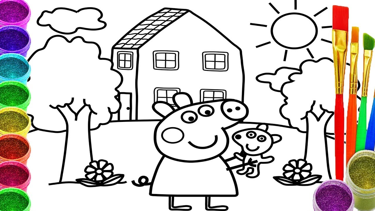 drawing for children at