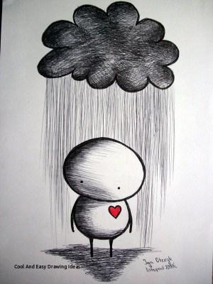 drawing easy cool drawings sad paintingvalley emotional