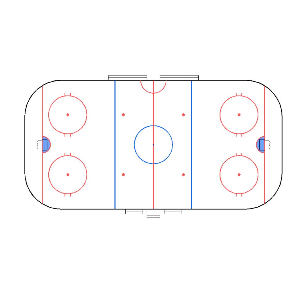 medium resolution of 1160x1146 cad plan of an ice hockey rink drawing of ice hockey rink