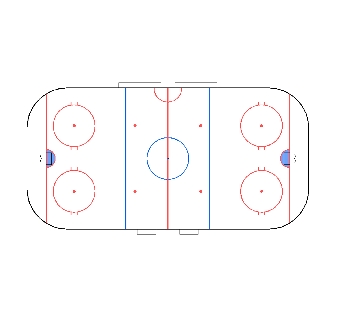 hight resolution of 1160x1146 cad plan of an ice hockey rink drawing of ice hockey rink