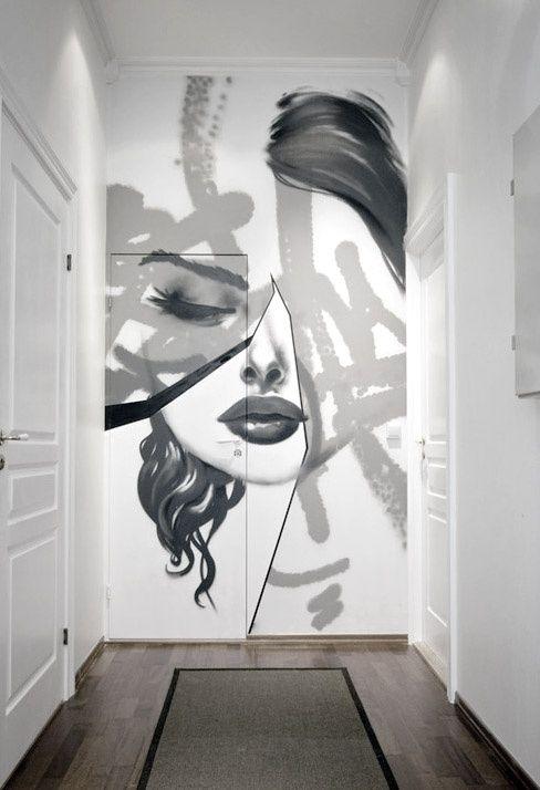 Art Drawing On Wall Arte Inspire