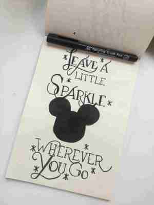 drawings quotes easy disney drawing copy doodles fonts pretty sketches einfach sad zeichnungen bossbabe sparkles paintingvalley minniemouse notebook zeichnung ml