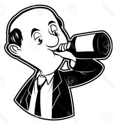 1212x1300 best black and white clipart drunk man images drunk man drawing [ 1212 x 1300 Pixel ]