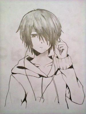anime boy easy drawings cool drawing pencil sketch sketches boys paintings getdrawings paintingvalley result step paintingvalleycom