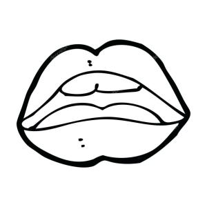 cartoon mouth drawings drawing easy iguana simple open symbol pencil draw clipart illustration clipartmag paintingvalley vector