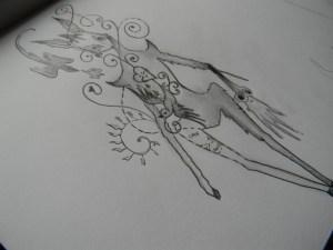 easy boyfriend drawing drawings simple him deer why paintingvalley dream