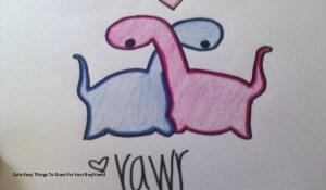 easy boyfriend drawings drawing him things draw paintingvalley getdrawings