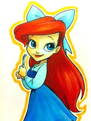 disney drawings drawing princess easy cartoon simple belle ariel draw characters tires gals tired dibujos google character things faciles anime