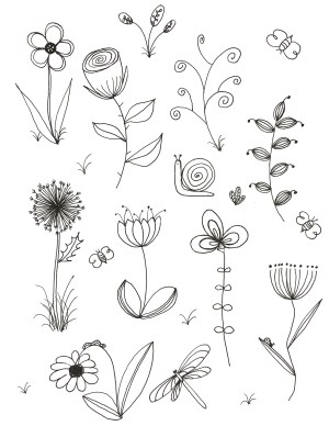 flowers drawing easy different types paintingvalley drawings explore simply