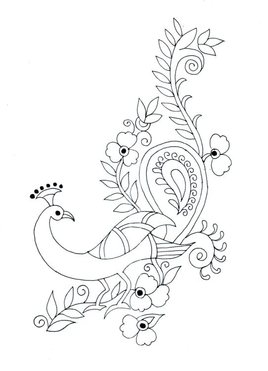 embroidery designs drawing at