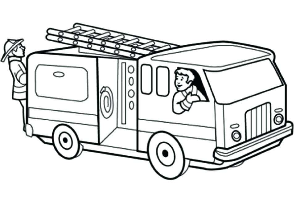 Fire Truck Drawing For Kids at PaintingValley.com