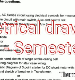 1280x720 electrical engineering drawing paper semester isi symbols free electrical drawing [ 1280 x 720 Pixel ]