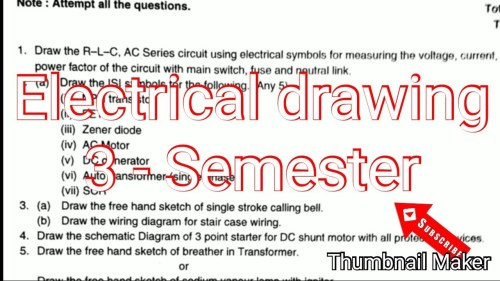 small resolution of 1280x720 electrical engineering drawing paper semester isi symbols free electrical drawing