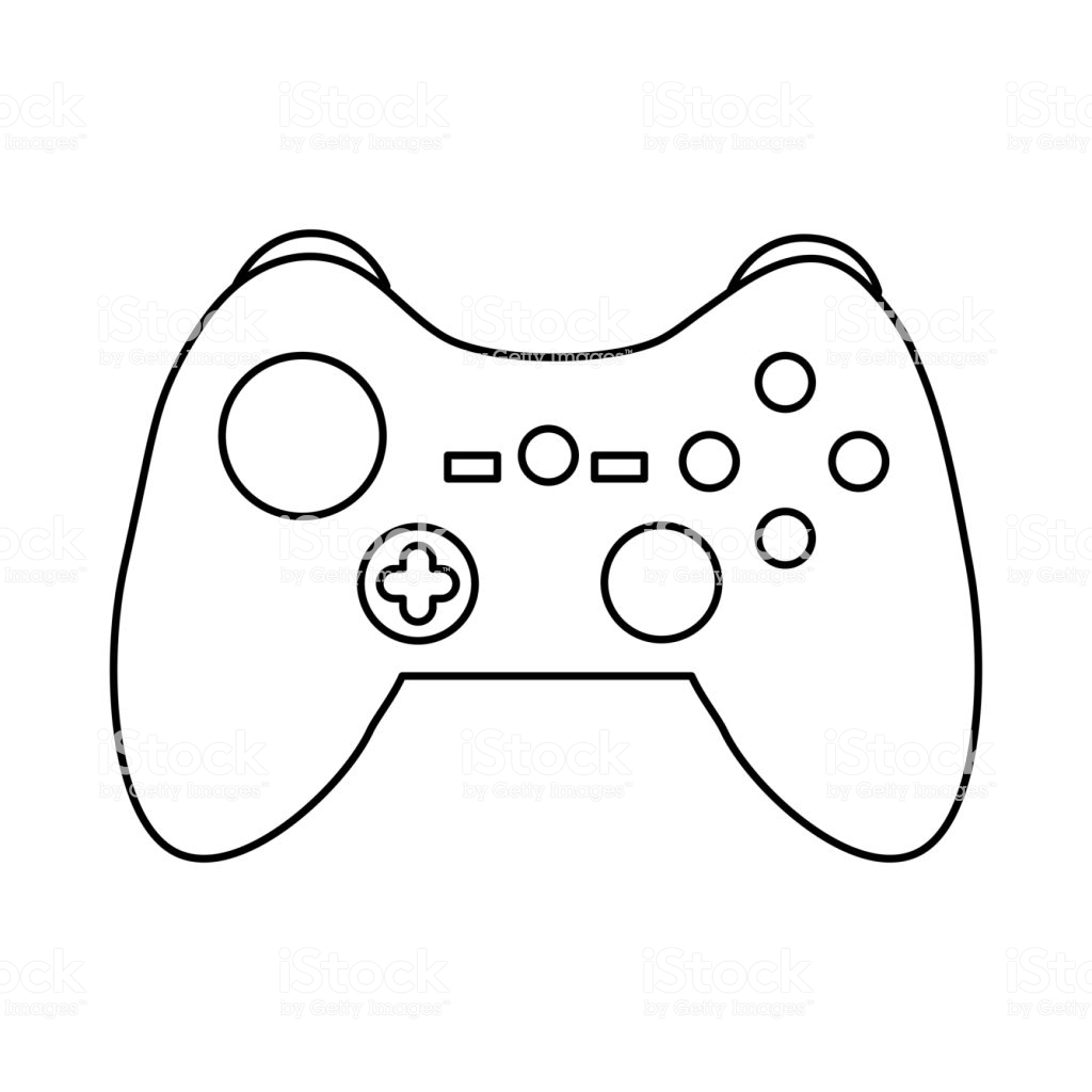 Game Controller Drawing At Paintingvalley