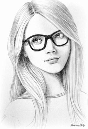 girly drawings simple easy paintingvalley