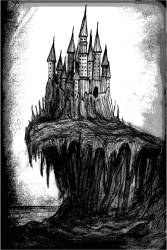 Gothic Castle Drawing