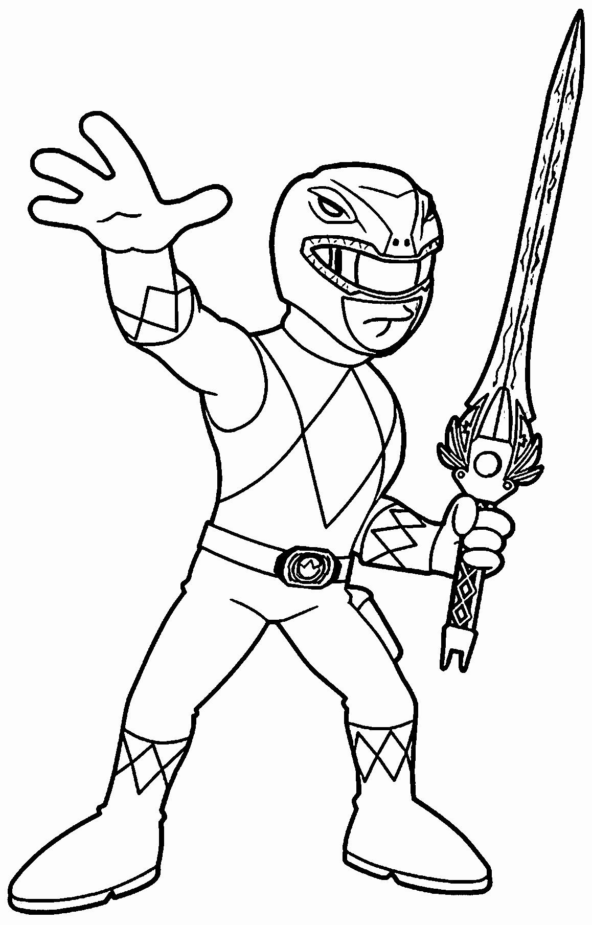 Green Power Ranger Drawing At Paintingvalley