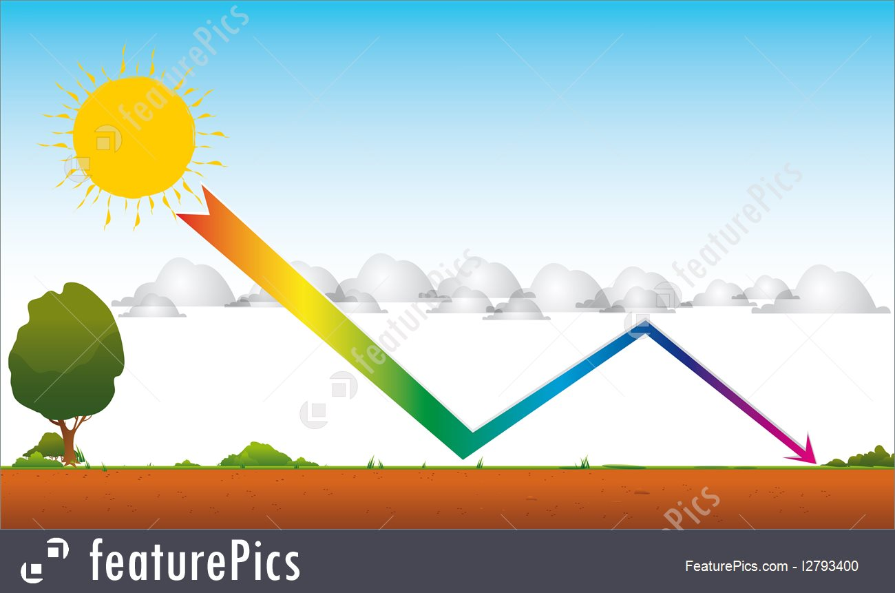 Greenhouse Effect Drawing For Kids
