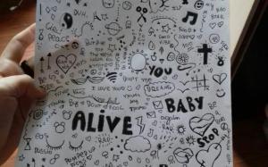 grunge drawings simple trippy paintingvalley