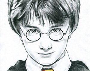 potter harry drawing cartoon pencil sketch simple paintingvalley drawings explore portrait