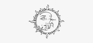 drawing indie moon drawings stars sun transparent paintingvalley nicepng