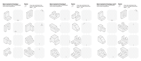 Isometric And Orthographic Drawing Worksheets at
