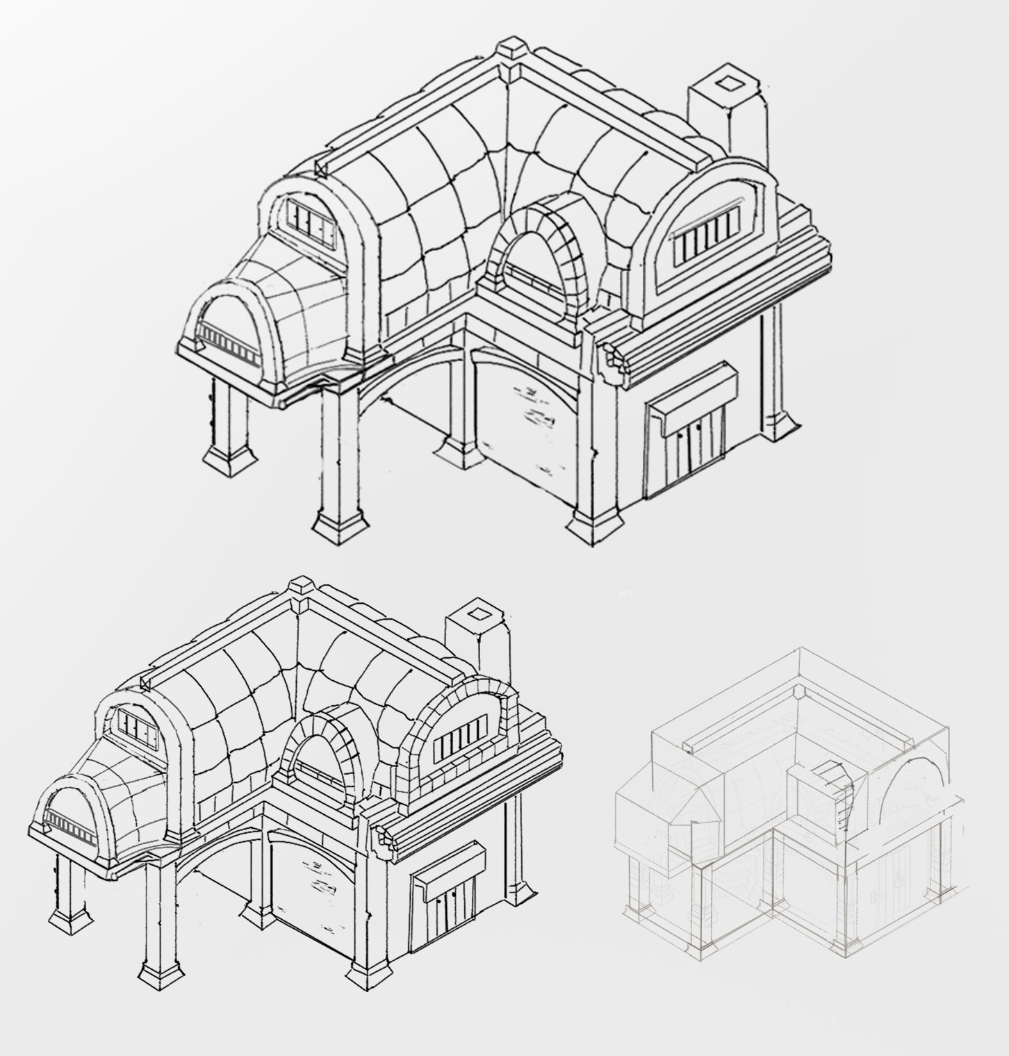 Isometric Drawing At Paintingvalley