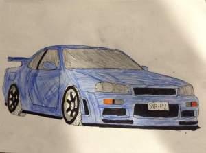 jdm drawings garage paintingvalley
