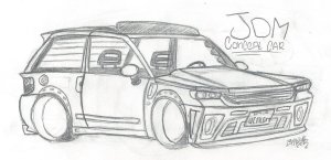 jdm drawings draw concept waiting paintingvalley