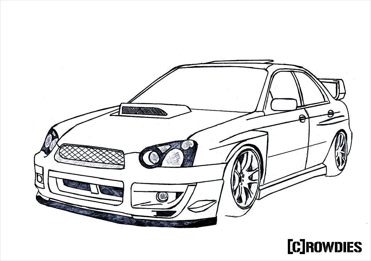 Jdm Car Drawings At Paintingvalley
