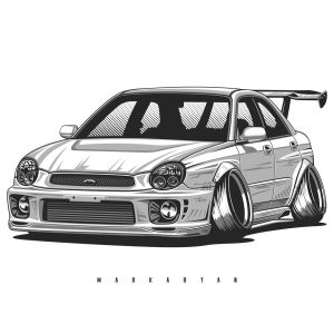 jdm subaru drawings cars drawing nissan sti camber skyline drift bmw tuner impreza honda wrx cool toyota carros gtr civic