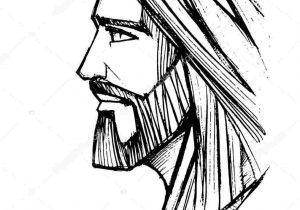 jesus easy drawing cartoon drawings paintingvalley