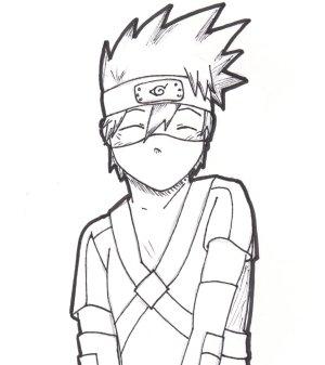 kakashi kid drawing desenhos naruto easy anime hatake kureiji obito otaku drawings coloringcity manga colorir gaara desenho ausmalbilder desenhar deviantart