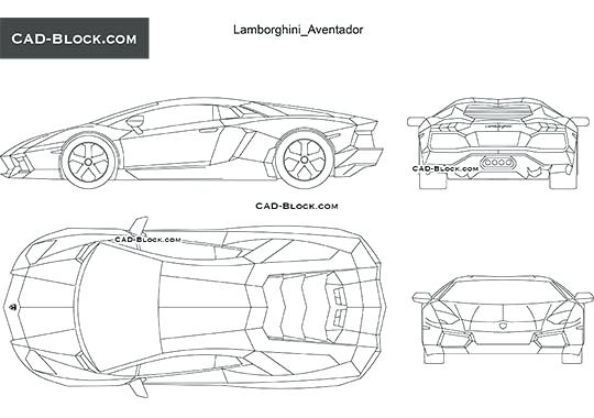 Lamborghini Aventador Drawing Outline at PaintingValley