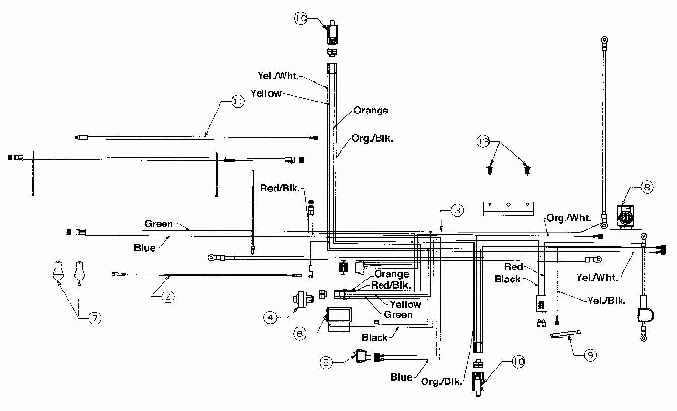 Mtd Wiring Diagram Riding Mower